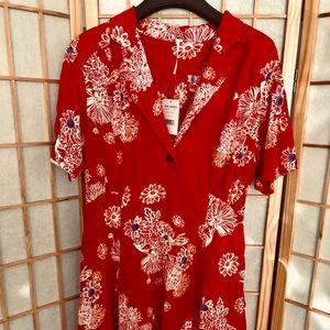Free People Hawaii Floral Nini Dress